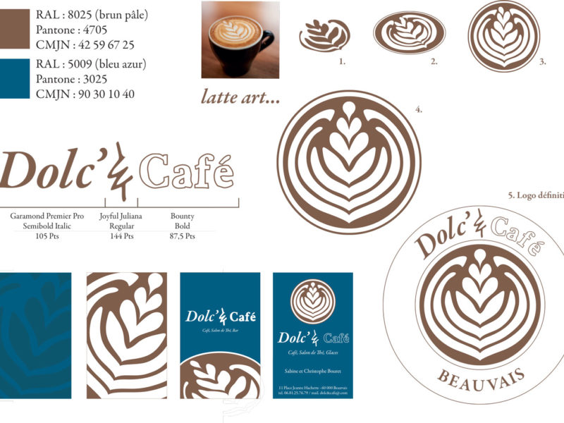 Dolc&café – Design graphique